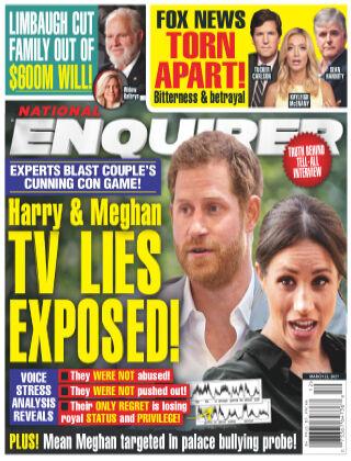 National Enquirer March 22 2021