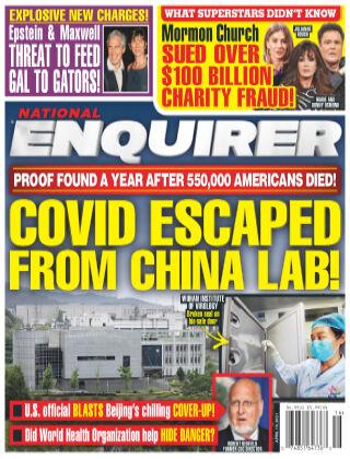 National Enquirer April 19th 2021