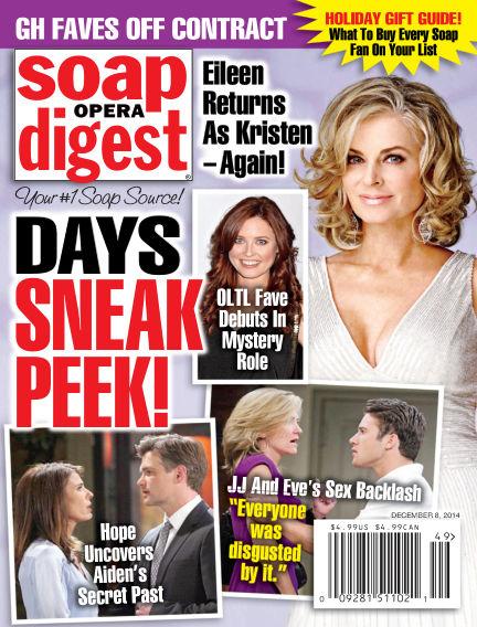 Soap Opera Digest November 28, 2014 00:00