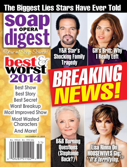 Soap Opera Digest December 12, 2014 00:00