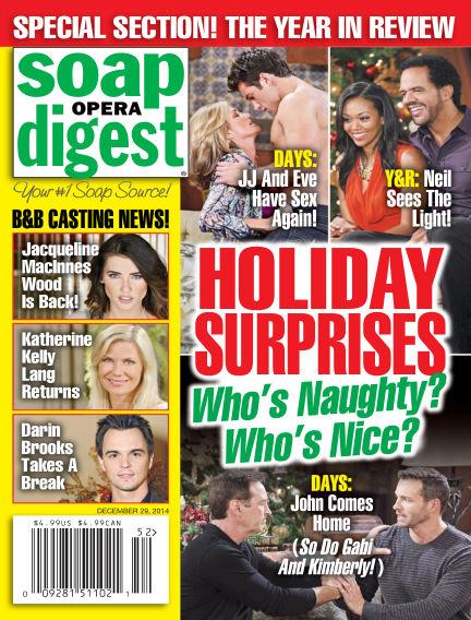 Soap Opera Digest December 19, 2014 00:00