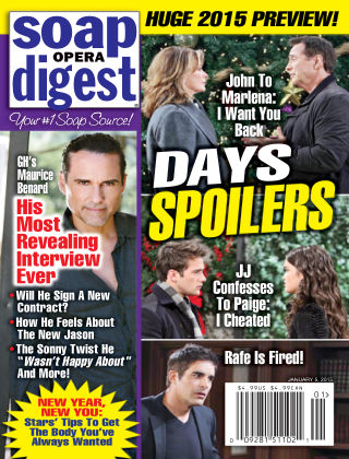 Soap Opera Digest Issue 1, 2015