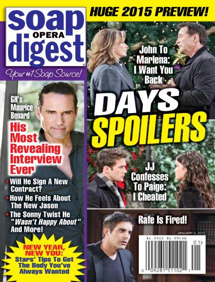 Soap Opera Digest December 26, 2014 00:00