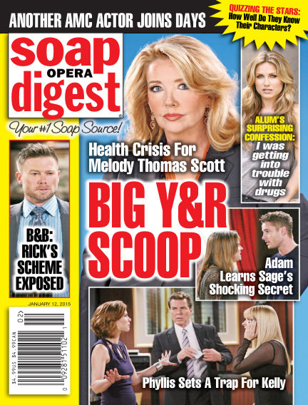 Soap Opera Digest January 02, 2015 00:00
