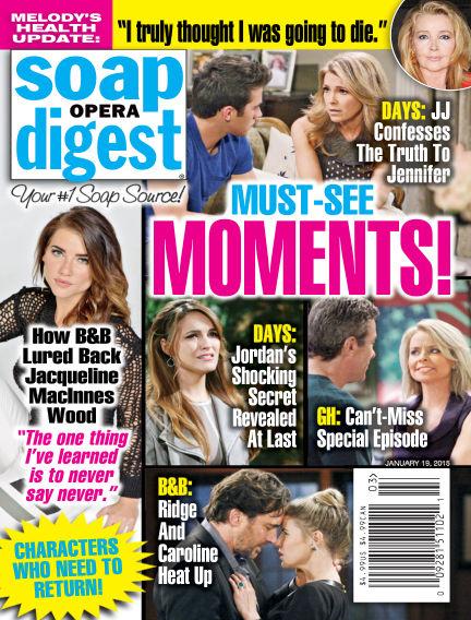Soap Opera Digest January 19, 2015 00:00