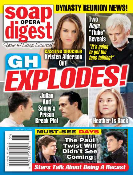 Soap Opera Digest January 23, 2015 00:00