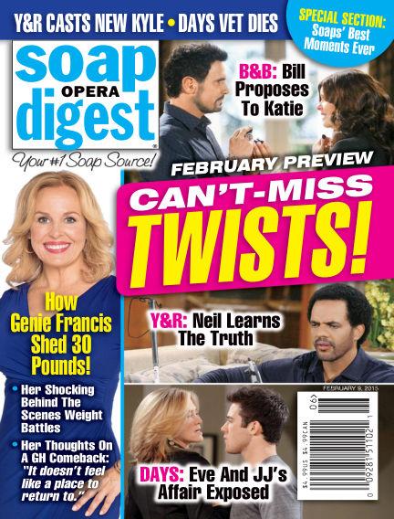 Soap Opera Digest January 30, 2015 00:00