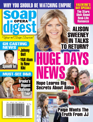 Soap Opera Digest Issue 7, 2015