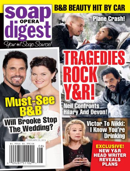 Soap Opera Digest February 13, 2015 00:00