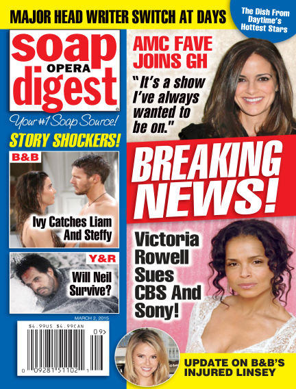 Soap Opera Digest February 20, 2015 00:00