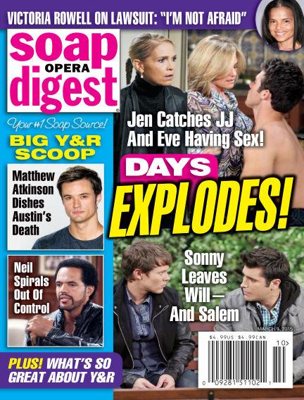 Soap Opera Digest February 27, 2015 00:00