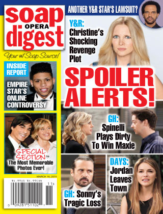 Soap Opera Digest Issue 11, 2015