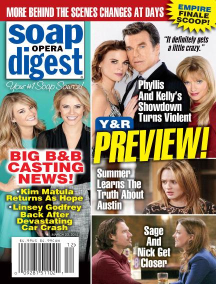 Soap Opera Digest March 13, 2015 00:00