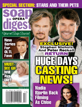 Soap Opera Digest Issue 13, 2015