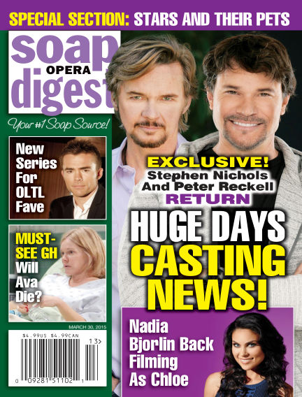 Soap Opera Digest March 20, 2015 00:00
