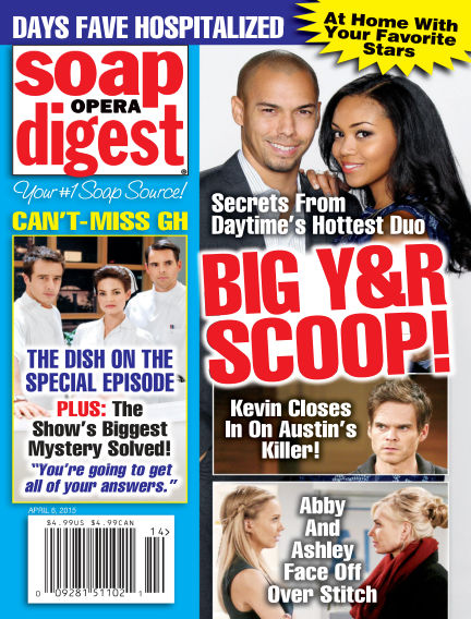 Soap Opera Digest March 27, 2015 00:00