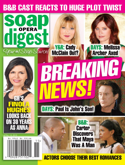 Soap Opera Digest April 03, 2015 00:00