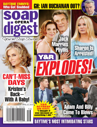 Soap Opera Digest Issue 16, 2015