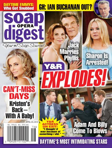Soap Opera Digest April 10, 2015 00:00