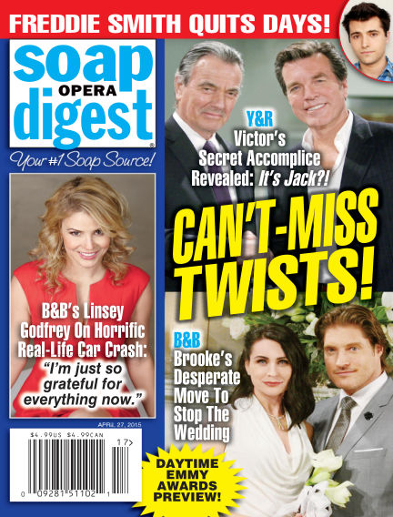 Soap Opera Digest April 17, 2015 00:00
