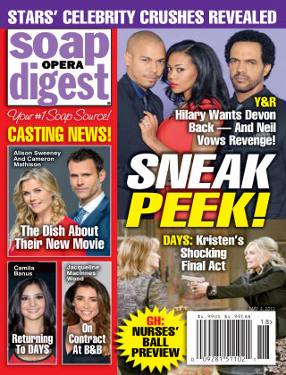 Soap Opera Digest Issue 18, 2015