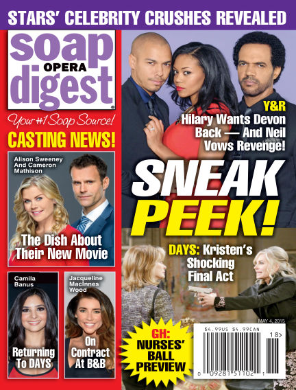 Soap Opera Digest April 24, 2015 00:00