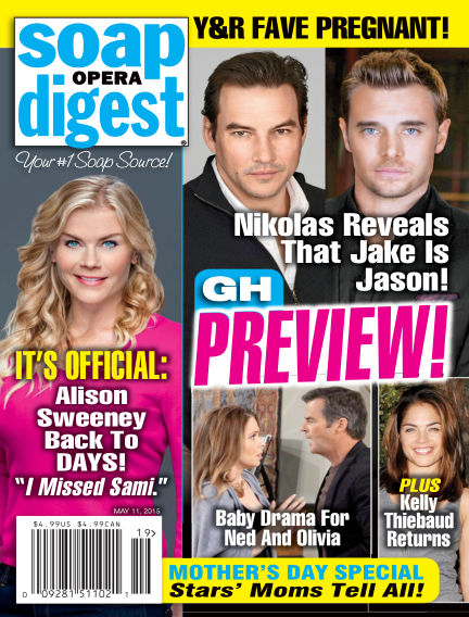 Soap Opera Digest May 01, 2015 00:00