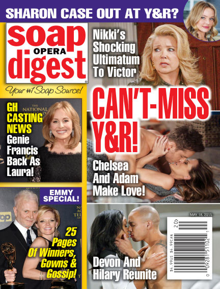 Soap Opera Digest May 08, 2015 00:00