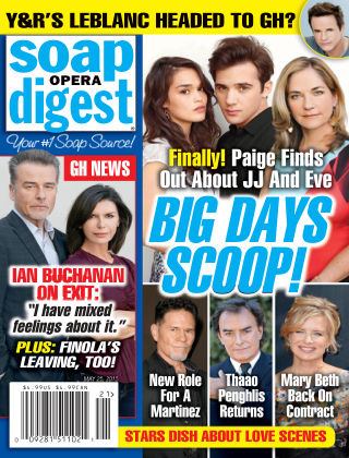Soap Opera Digest Issue 21, 2015