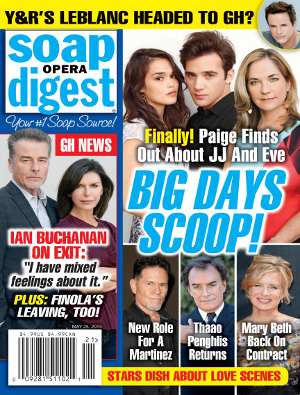 Soap Opera Digest May 15, 2015 00:00