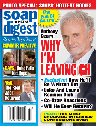 Soap Opera Digest Issue 22, 2015
