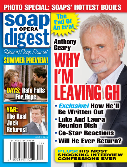 Soap Opera Digest May 22, 2015 00:00