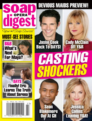 Soap Opera Digest Issue 23, 2015