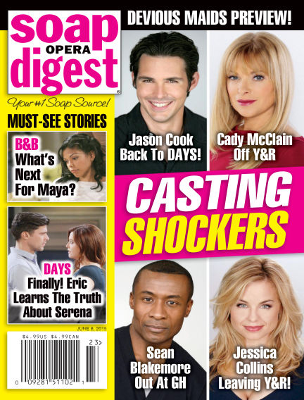 Soap Opera Digest May 29, 2015 00:00