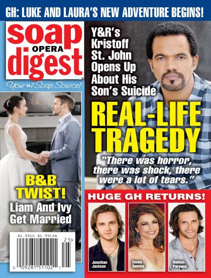 Soap Opera Digest June 12, 2015 00:00