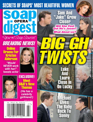 Soap Opera Digest Issue 27, 2015
