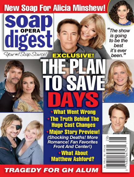 Soap Opera Digest July 03, 2015 00:00