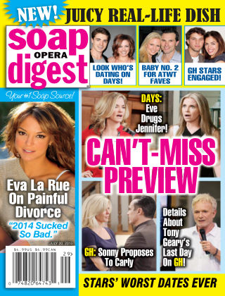 Soap Opera Digest Issue 29, 2015