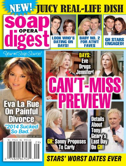 Soap Opera Digest July 10, 2015 00:00