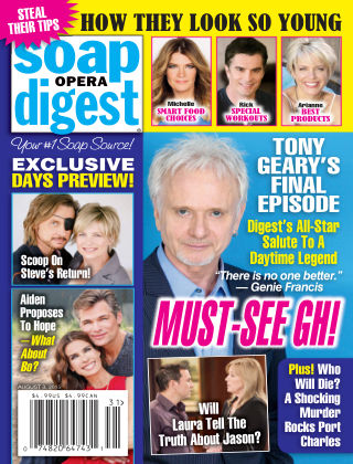 Soap Opera Digest Issue 31, 2015
