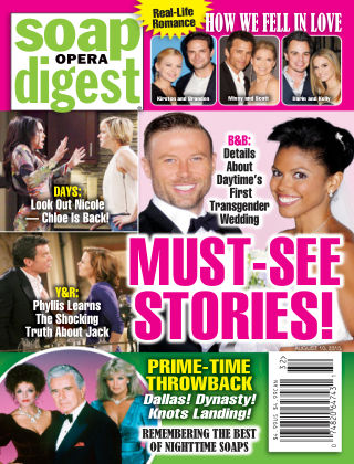 Soap Opera Digest Issue 32, 2015