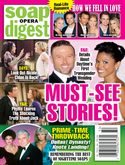 Soap Opera Digest July 31, 2015 00:00