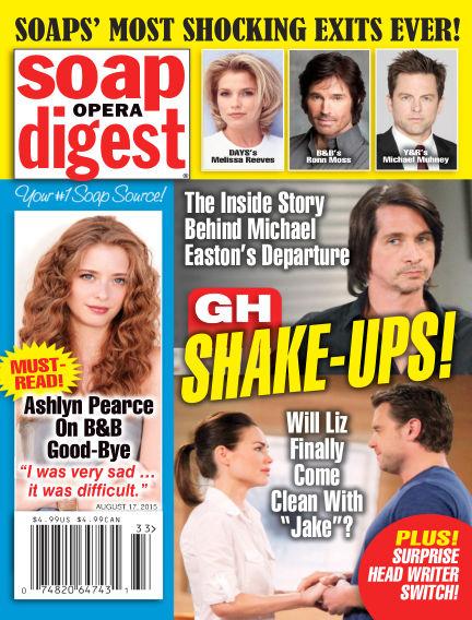 Soap Opera Digest August 07, 2015 00:00