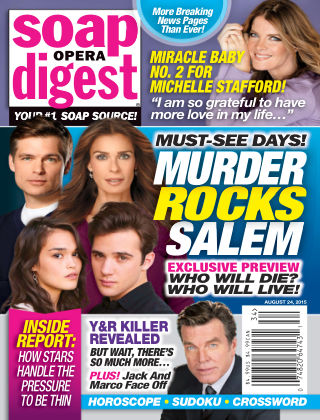 Soap Opera Digest Issue 34, 2015