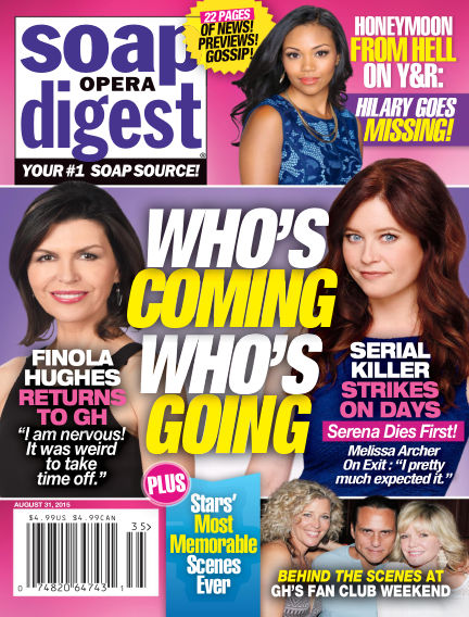 Soap Opera Digest August 21, 2015 00:00