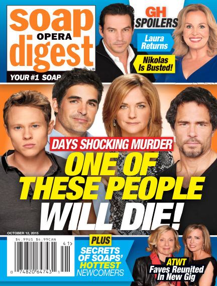 Soap Opera Digest October 02, 2015 00:00