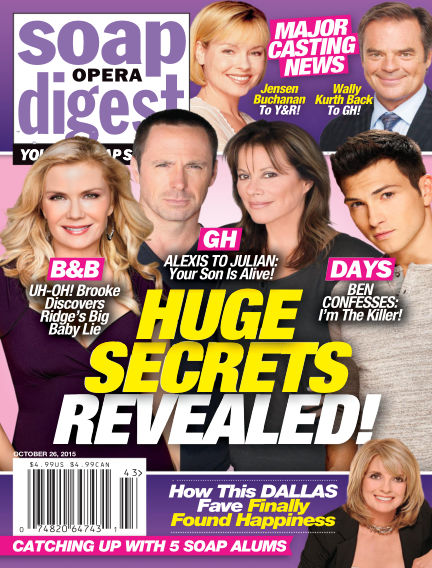 Soap Opera Digest October 16, 2015 00:00
