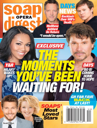 Soap Opera Digest Issue 44, 2015