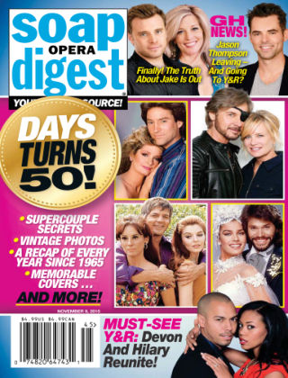 Soap Opera Digest Issue 45, 2015