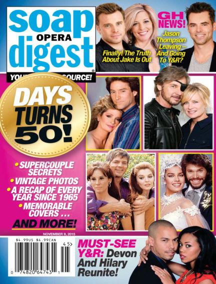 Soap Opera Digest October 30, 2015 00:00